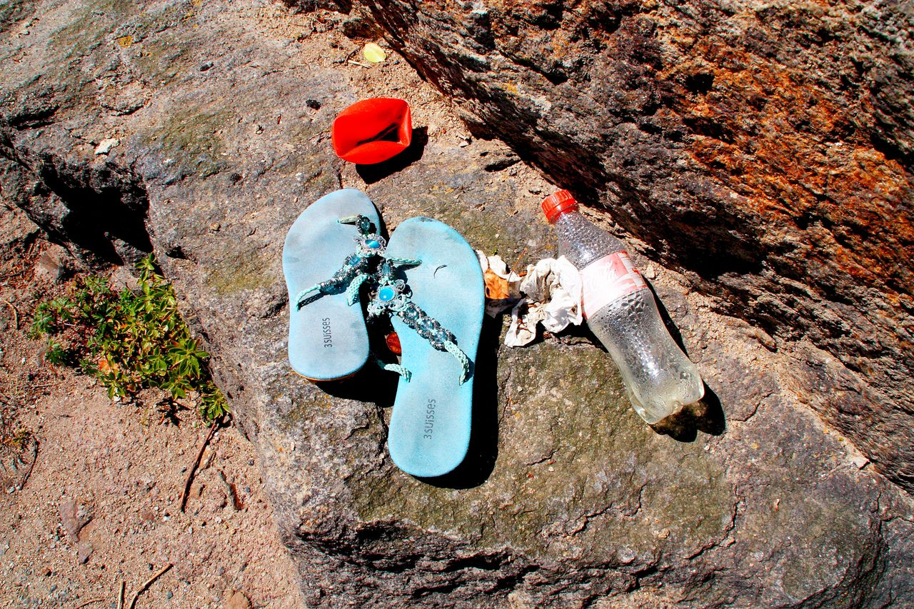 Sur le rocher