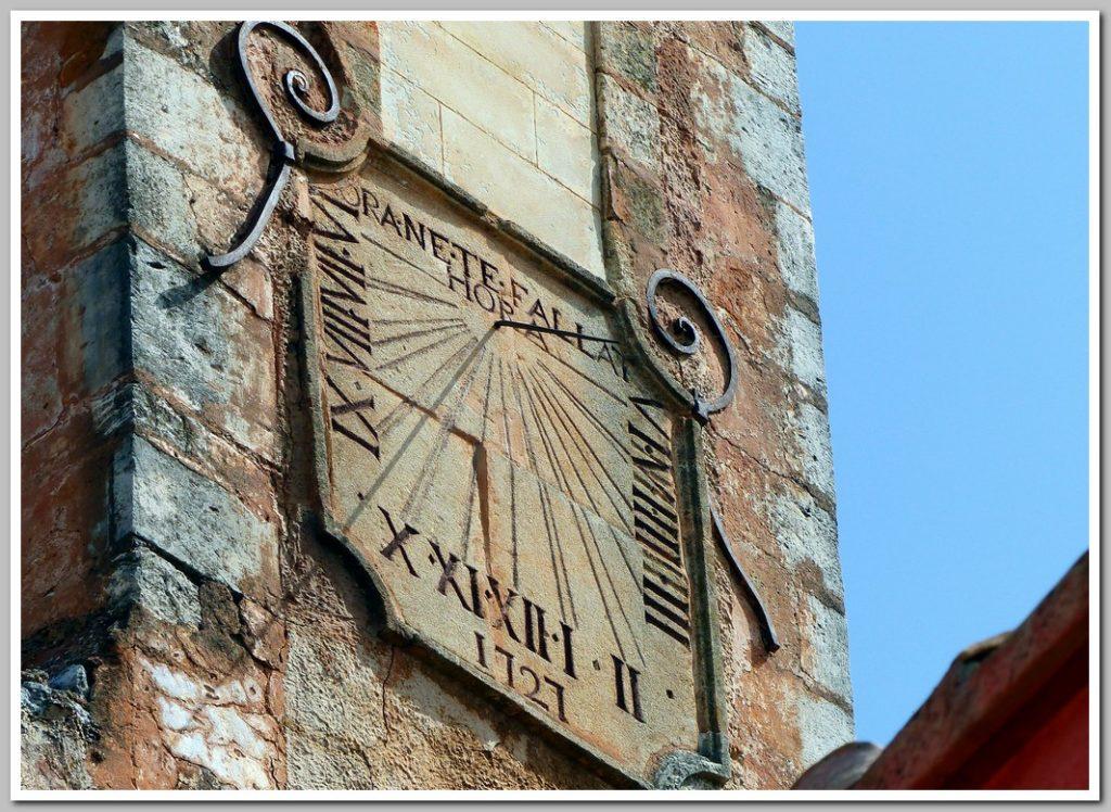 Cadran solaire, Roussillon, Vaucluse, P.A.C.A