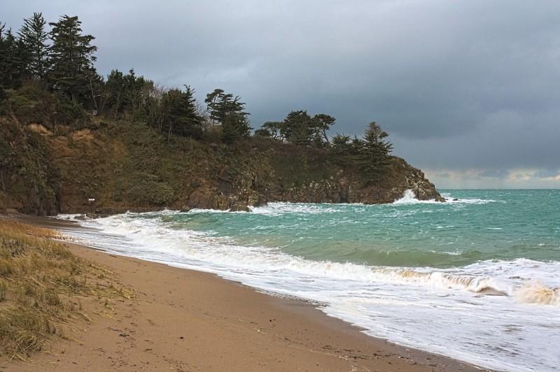 Grande marée, les vagues