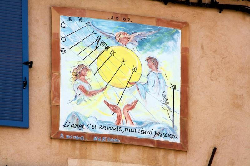 Cadran solaire provençal