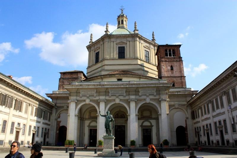 Basilique San-Lorenzo-Maggiore