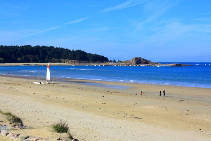 La plage, fin octobre