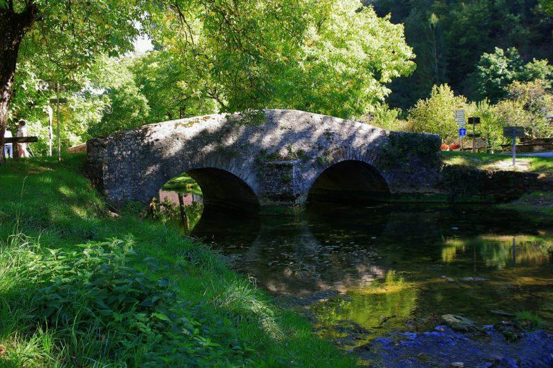 Pont sur la Seille