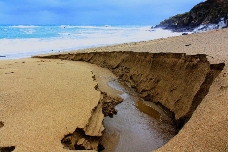 Canyon sableux