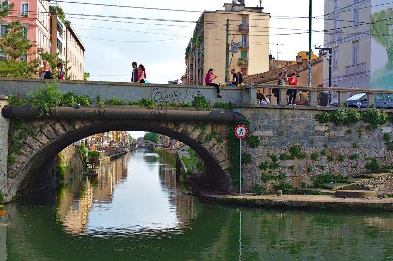 Pont sur le Naviglio-Grande