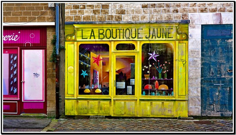La boutique jaune