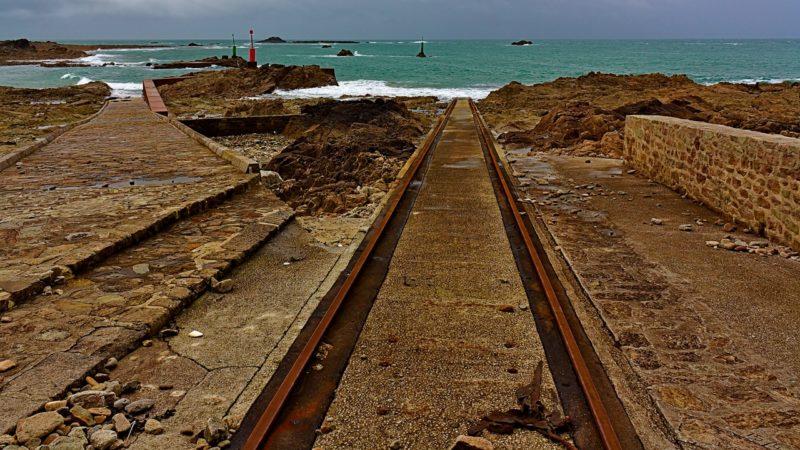 Rails basse-mer