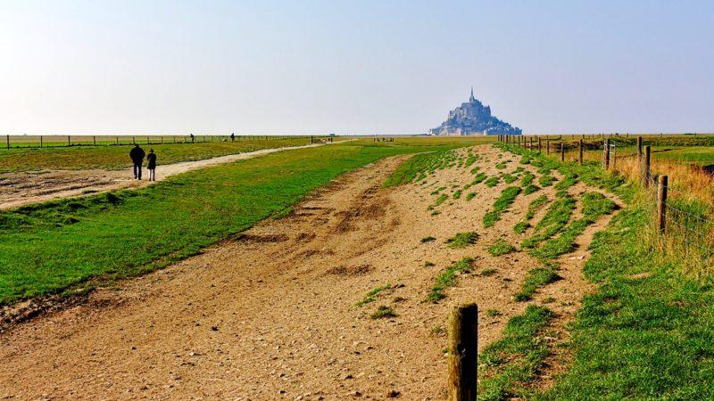 Vers le Mont-Saint-Michel