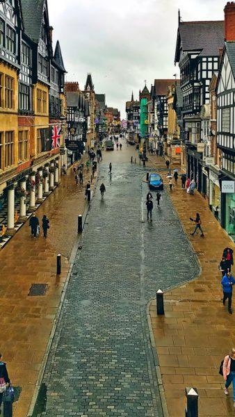 Rue principale de Chester