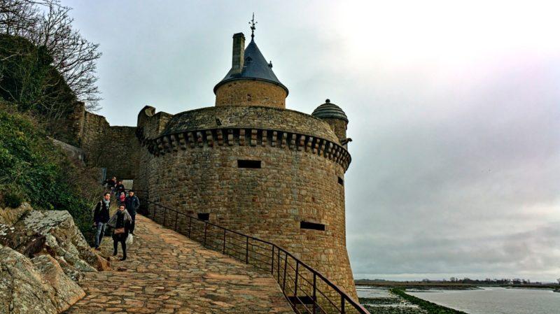 La Tour Gabriel au Mont-Saint-Michel