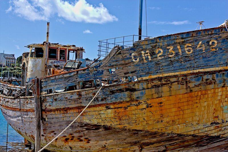 Cimetière de bateaux de Camaret CM 231642