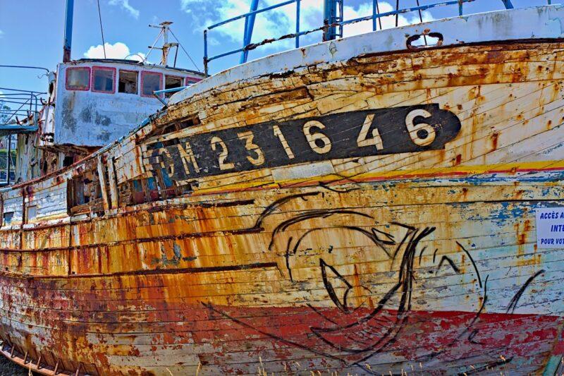 Cimetière de bateaux de Camaret CM 231646