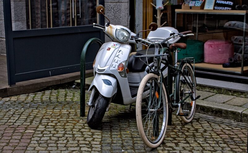 Retour vers le futur en deux-roues vintage